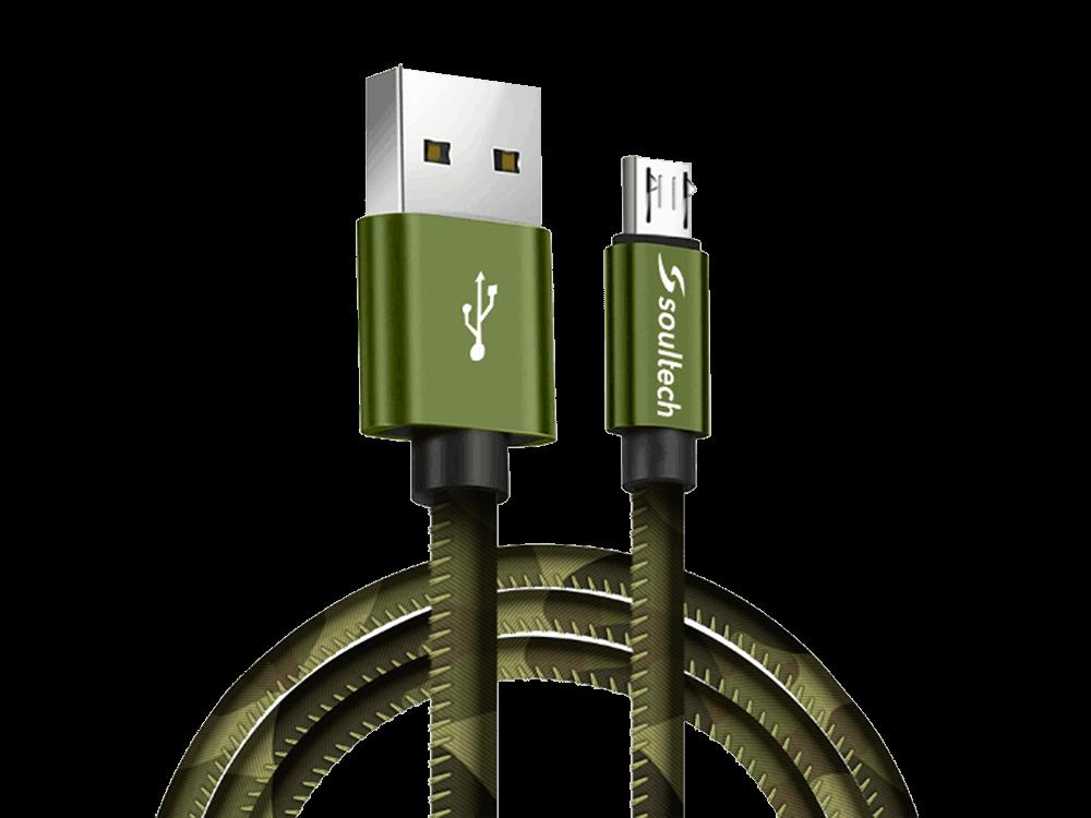 Soultech Platinum Army Micro USB Şarj ve Data Kablosu