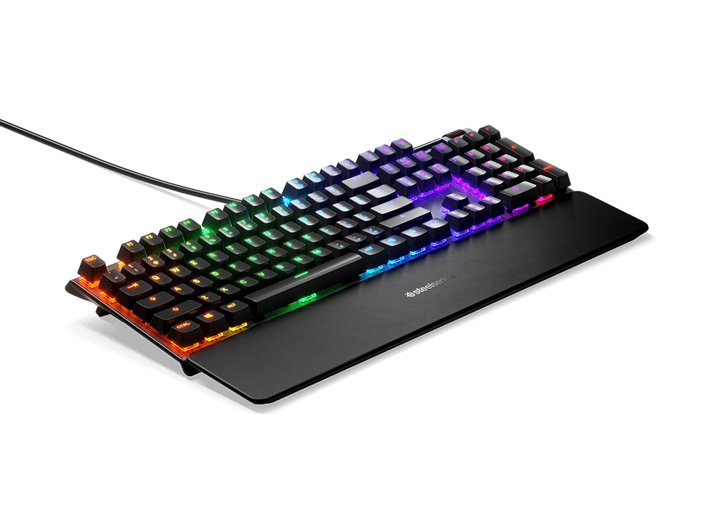 SteelSeries Apex 7 Türkçe RGB Red Switch Mekanik Oyuncu Klavye