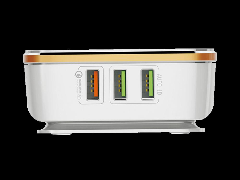 Tsmart 6 USB Çıkışlı Qualcomm Hızlı Şarj Cihazı