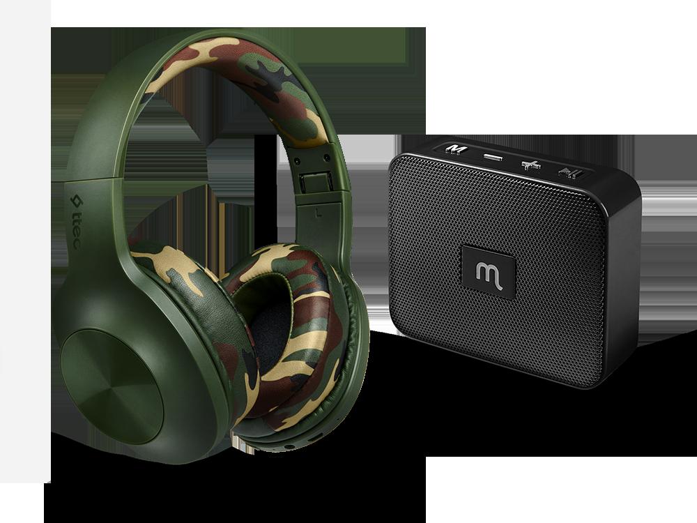 Ttec Kablosuz Müzik Fırsat Paketi: SoundMax 2 Kulaklık + Mojue WS02 Hoparlör