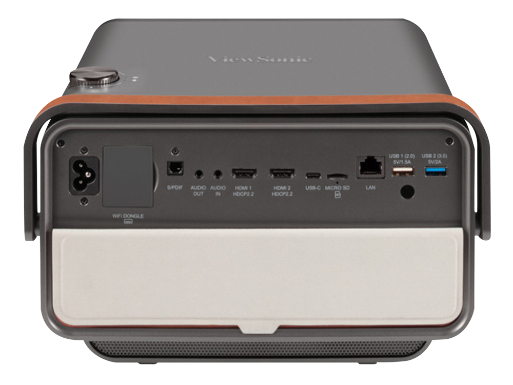 Viewsonic X10-4K Ultra HD Kısa Atım Bluetooth/WiFi Harman Kardon %125 Rec709 CinemaColor Taşınabilir SMART LED Projeksiyon