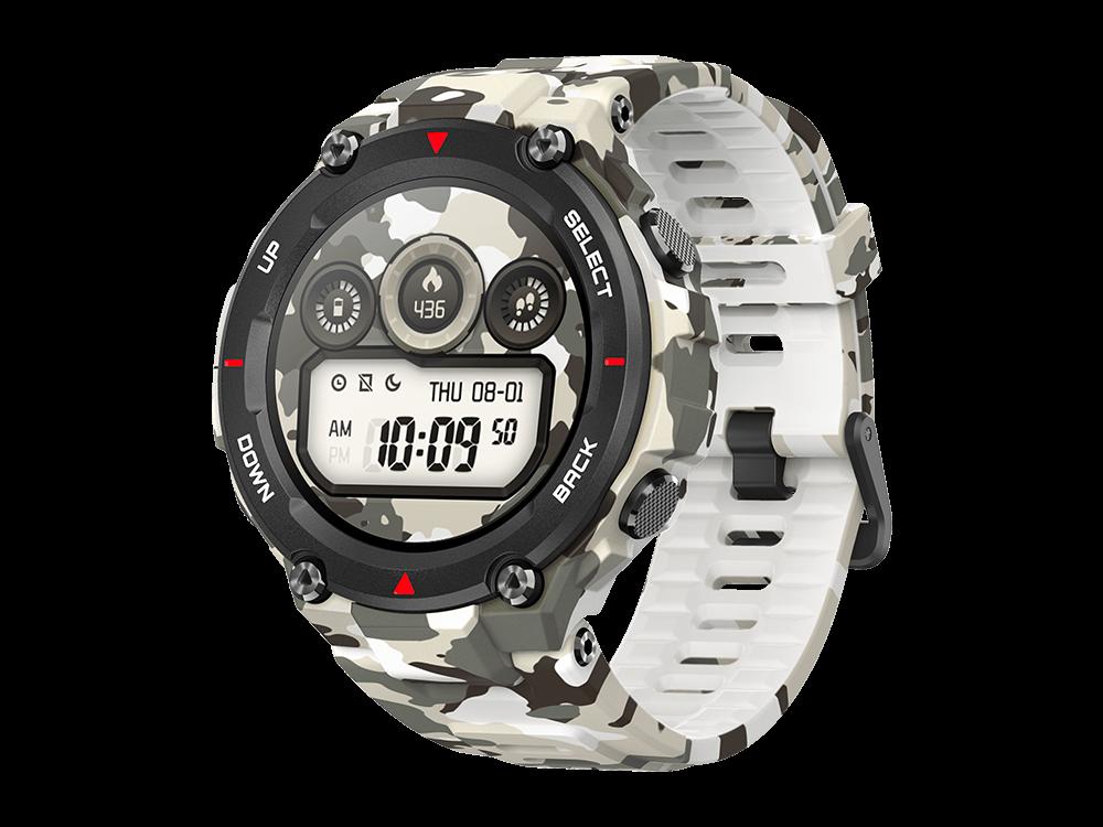 Amazfit T-Rex Nabız Sensörlü Suya Dayanıklı GPS Akıllı Saat