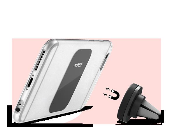 Aukey Manyetik Araç İçi Telefon Tutucu