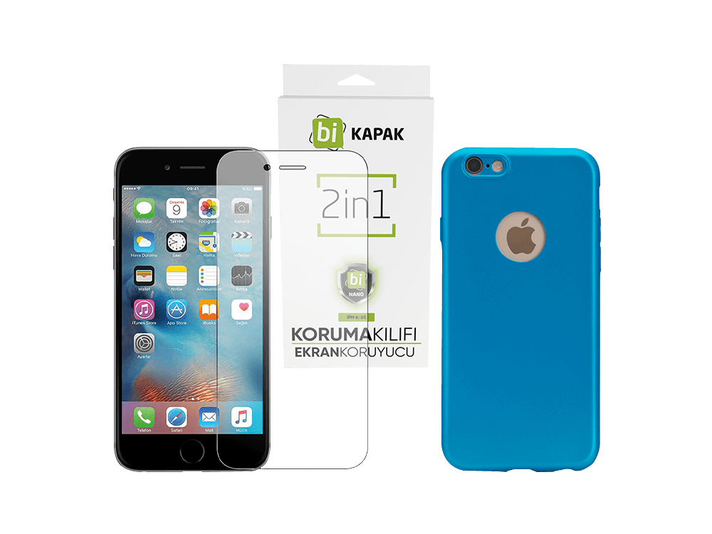 Bikapak 2'si 1 Arada iPhone 6/6S Eco Paket