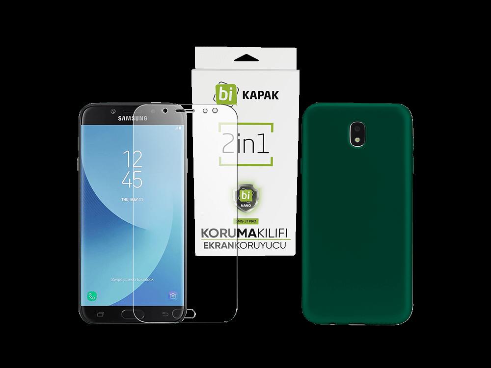 Bikapak 2'si 1 Arada Samsung J7 Pro Eco Paket