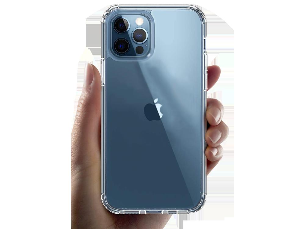 Bikapak Elit Air iPhone 12/12 Pro Şeffaf Koruyucu Kılıf