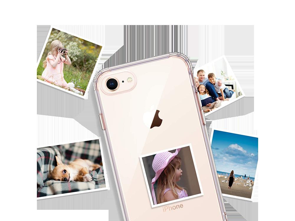 Bikapak Elit Air iPhone 7/8 Plus Şeffaf Koruyucu Kılıf