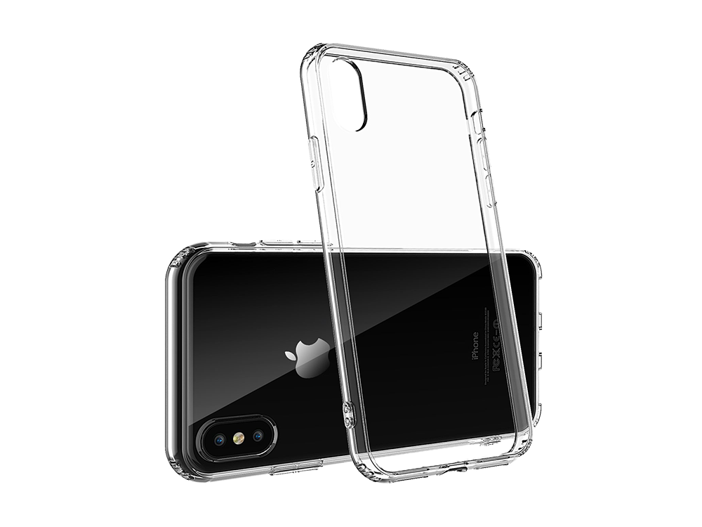 Bikapak Elit Air iPhone X/XS Şeffaf Koruyucu Kılıf