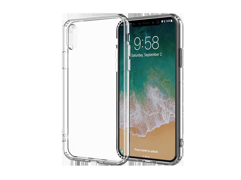 Bikapak Elit Air iPhone XS Max Şeffaf Koruyucu Kılıf