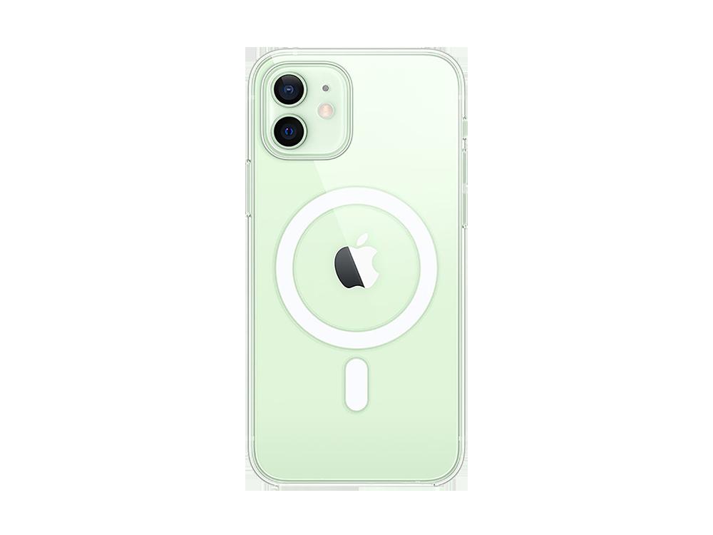Bikapak Magsafe Air iPhone 12 Mini Şeffaf Koruyucu Kılıf