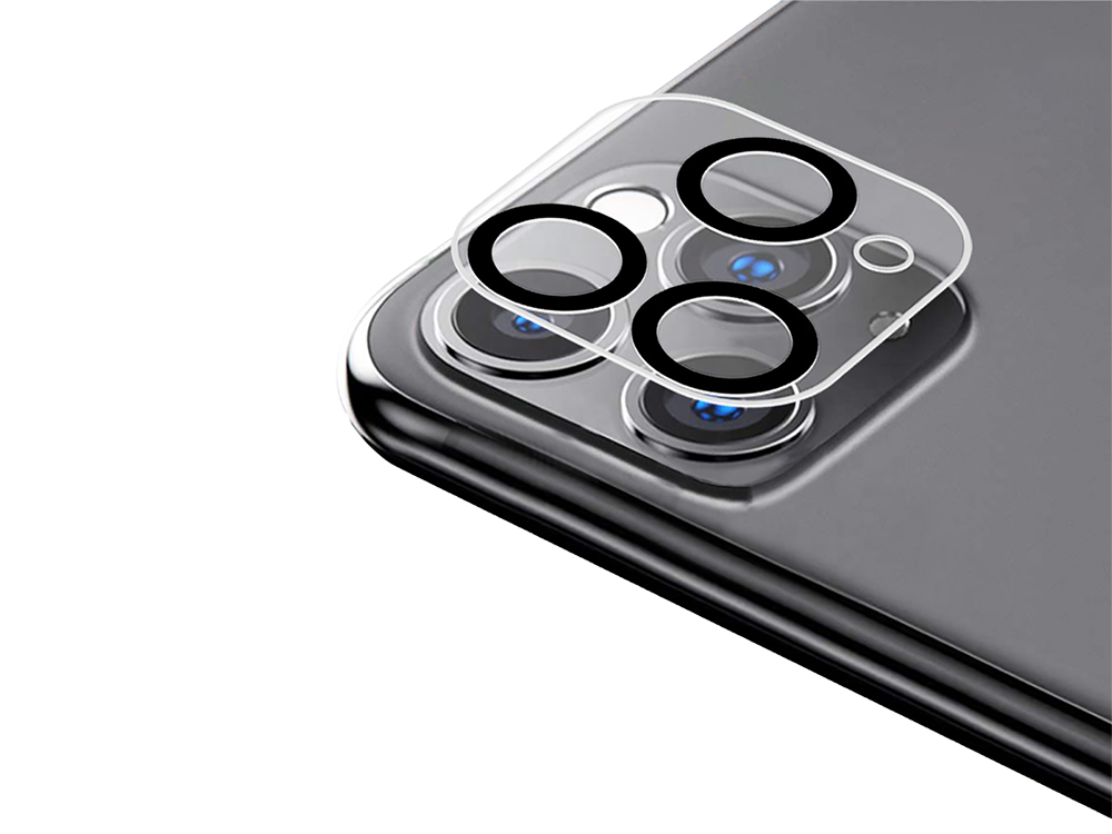 Binano 3D Anti-Exposure iPhone 11 Pro Kamera Koruyucu