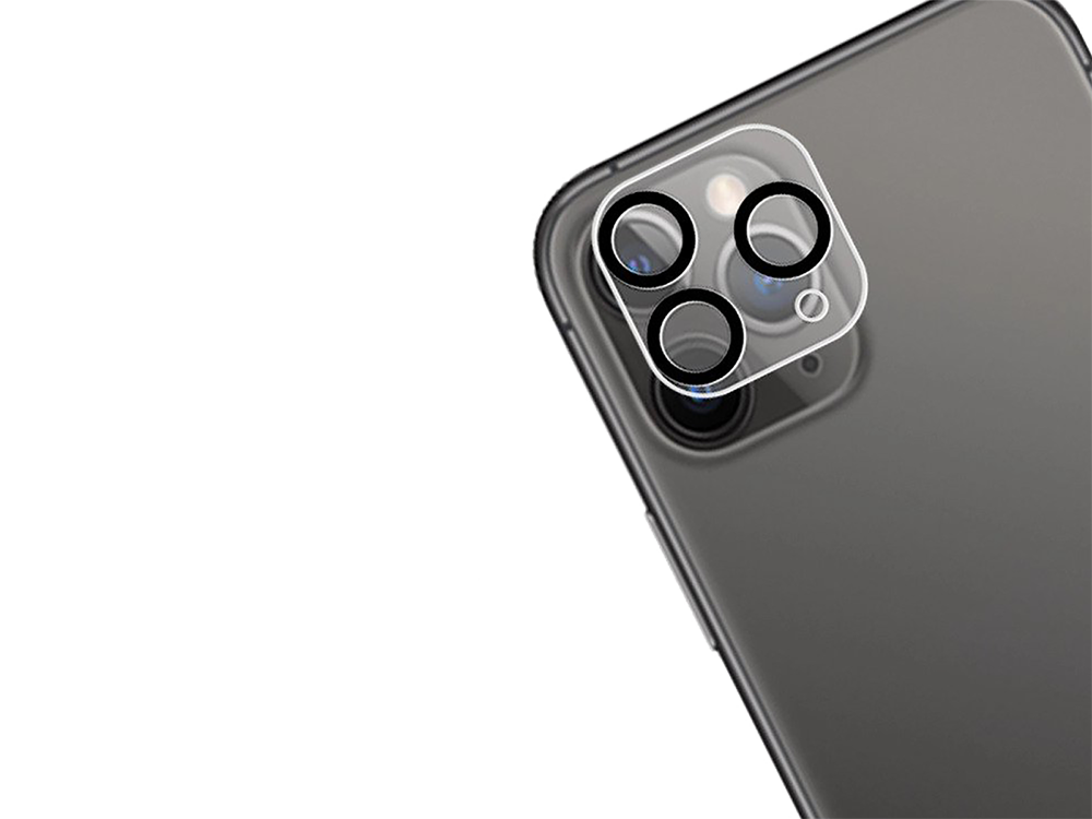 Binano 3D Anti-Exposure iPhone 11 Pro Max Kamera Koruyucu