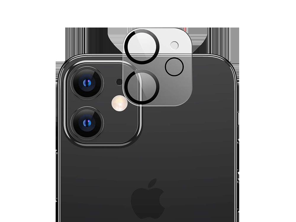 Binano 3D Anti-Exposure iPhone 12 Kamera Koruyucu