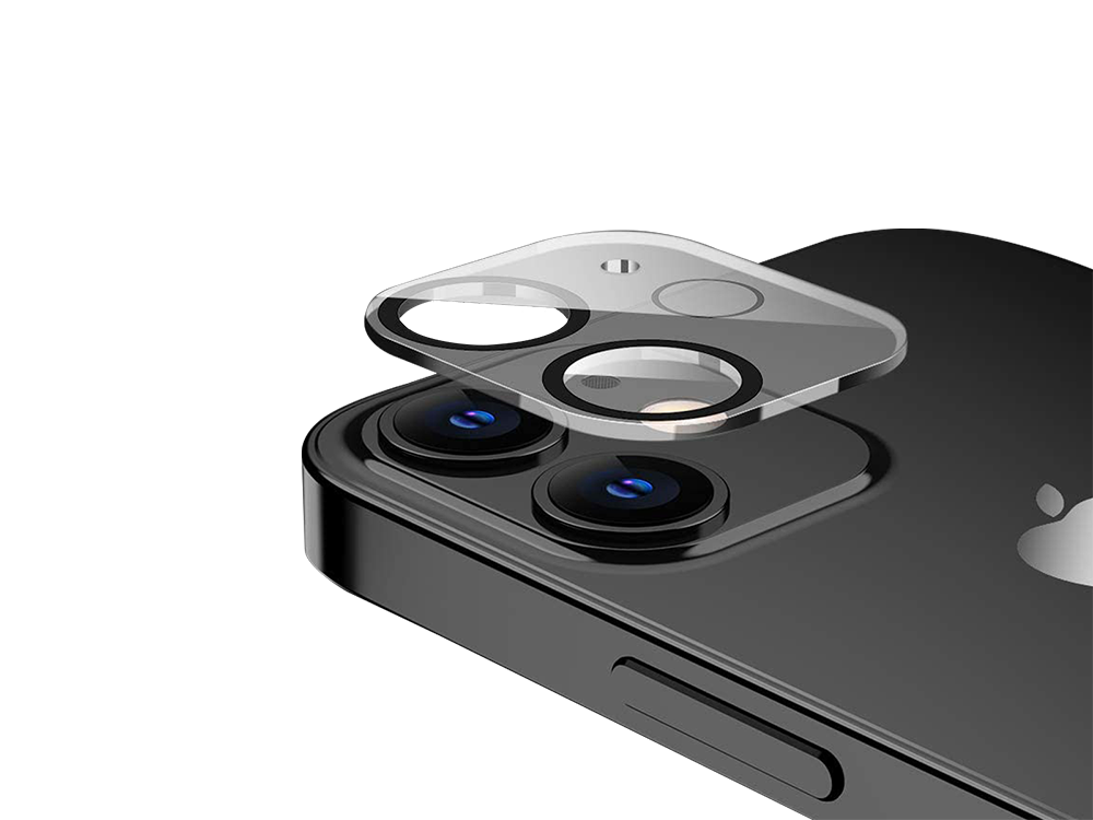 Binano 3D Anti-Exposure iPhone 12 mini Kamera Koruyucu