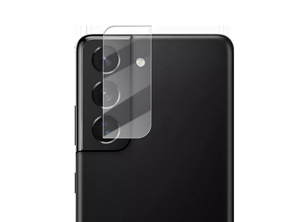 Binano 3D Anti-Exposure Samsung S21 Kamera Koruyucu