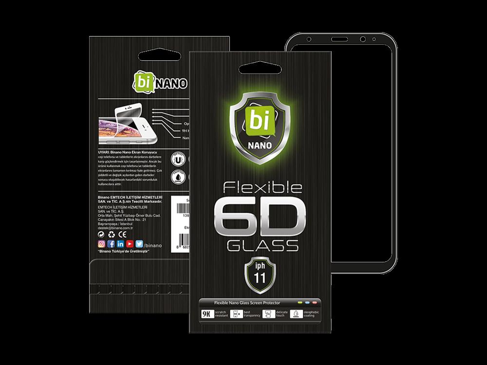 Binano 6D Samsung A21S Ekran Koruyucu