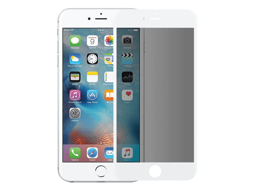 Binano Ceramic Matte iPhone 7 / iPhone 8 / iPhone SE 2020 Ekran Koruyucu