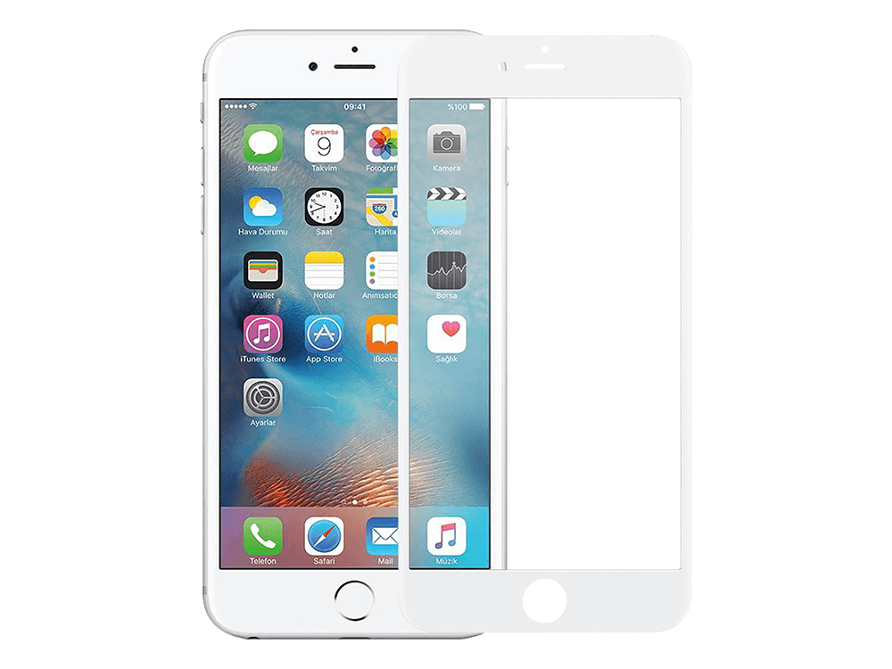 Binano Curved Ceramic iPhone 7 Plus/8 Plus Nano Ekran Koruyucu
