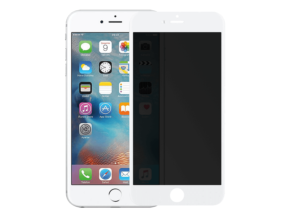 Binano Curved Matte Ceramic iPhone 7 / 8 Plus Nano Ekran Koruyucu