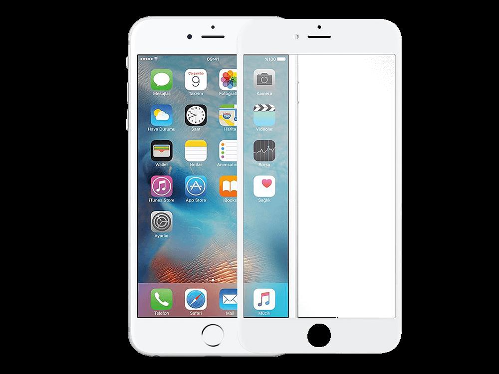 Binano iPhone 7 Plus / iPhone 8 Plus 3D Ekran Koruyucu