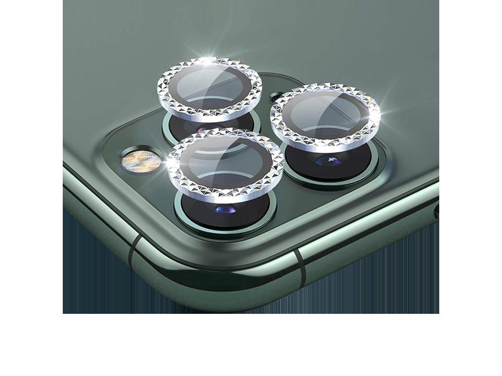 Binano Mini Metal Ring iPhone 11 Pro / iPhone 11 Pro Max Lens Koruyucu 3'lü Takım