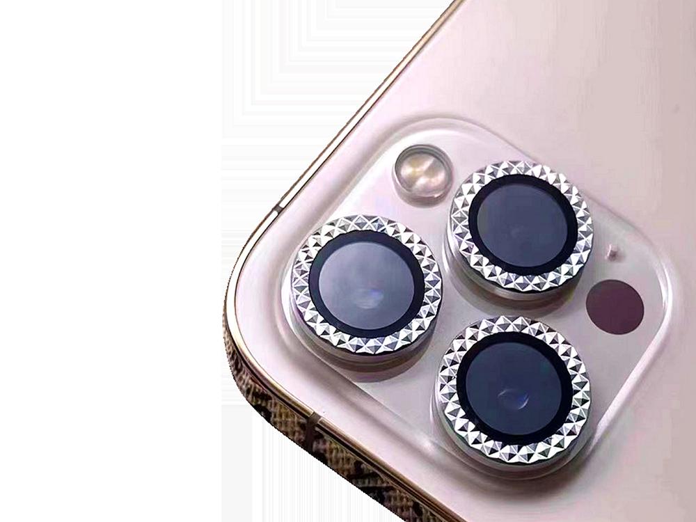 Binano Mini Metal Ring iPhone 12 Pro Lens Koruyucu 3'lü Takım