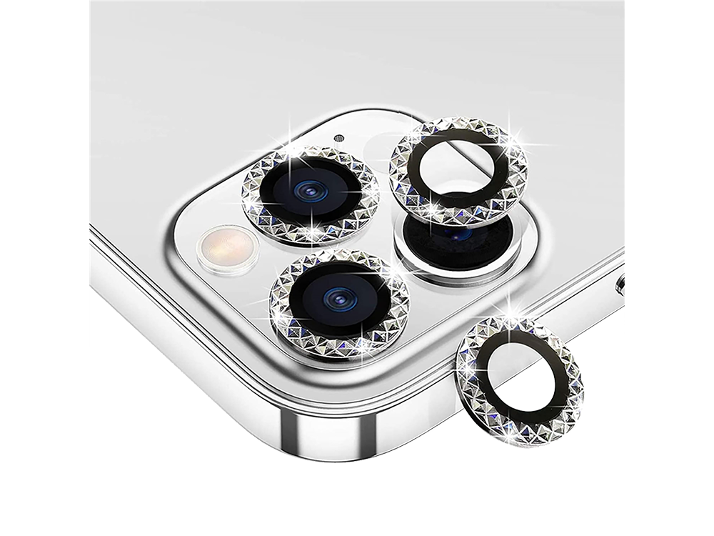 Binano Mini Metal Ring iPhone 12 Pro Max Lens Koruyucu 3'lü Takım