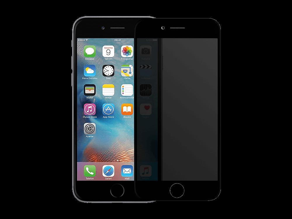Binano Privacy Antidust Mat iPhone 7 / 8 Plus Ekran Koruyucu