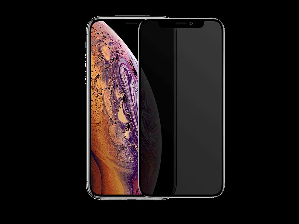 Binano Privacy Antidust Mat iPhone XS Max Ekran Koruyucu
