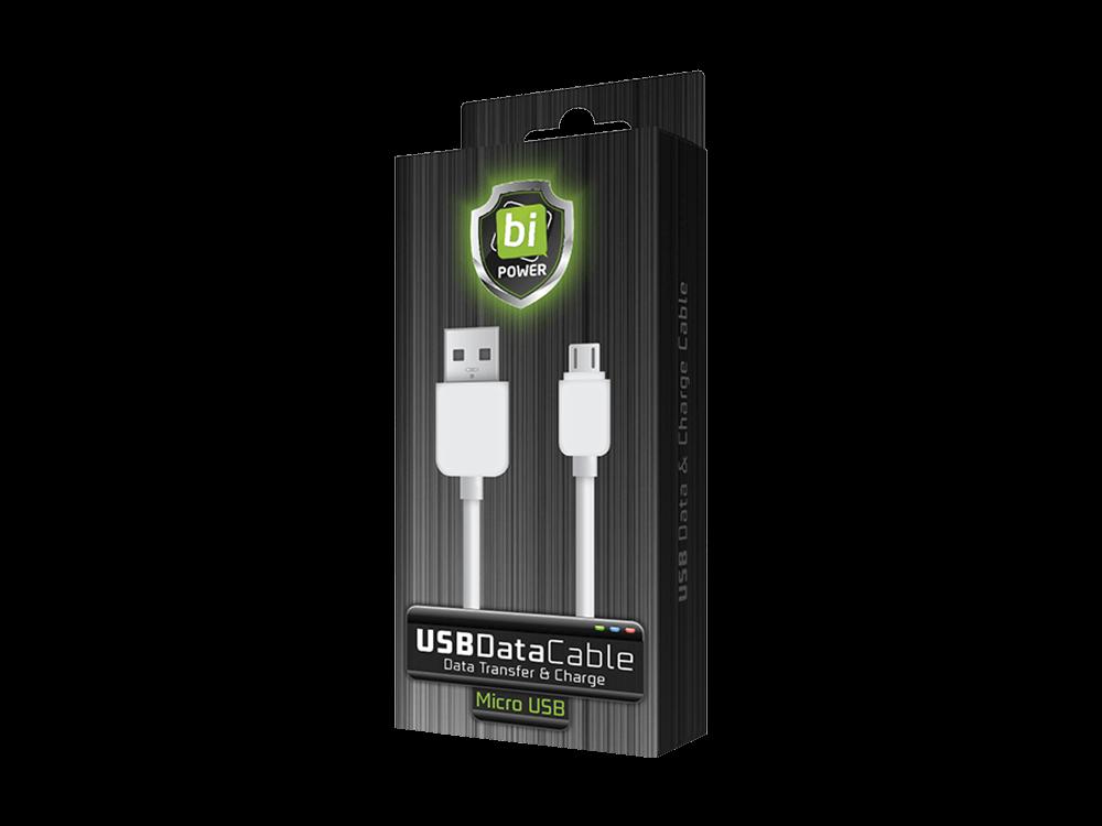 Bipower BP-01K Micro USB Şarj ve Data Kablosu