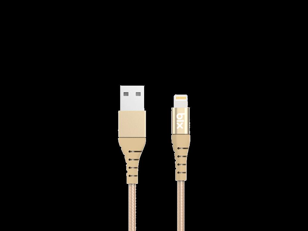 Bix BX-IP01C MFI Sertifikalı Lightning Şarj ve Data Kablosu