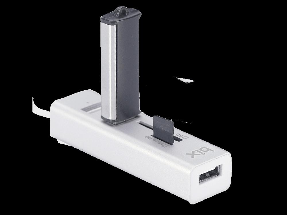 Bix BX05HB USB 2.0 3 Port HUB ve Kart Okuyucusu