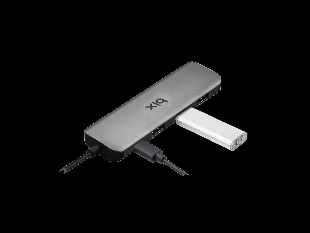 Bix BX07HB 4 Type-C USB 3.0 ve USB-C Multiport Çoklayıcı