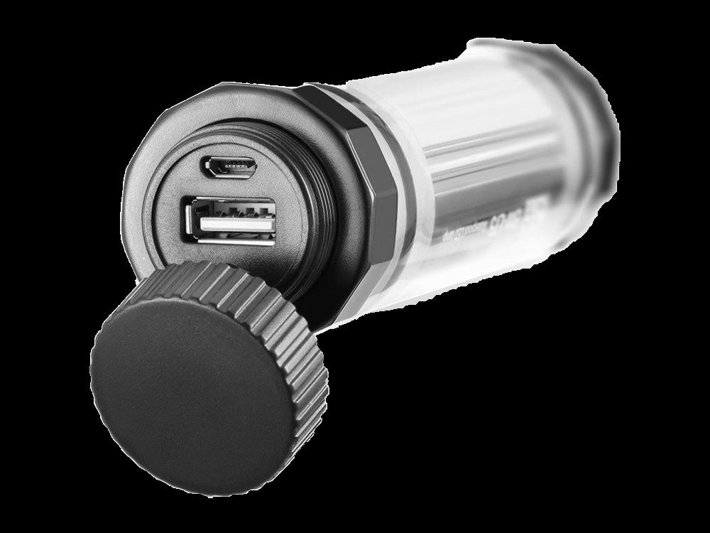 BlitzPower Su Geçirmez Led Lambalı Taşınabilir Şarj Cihazı