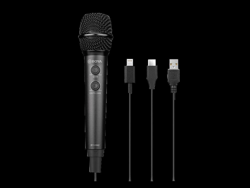Boya BY-HM2 Dijital El Mikrofonu