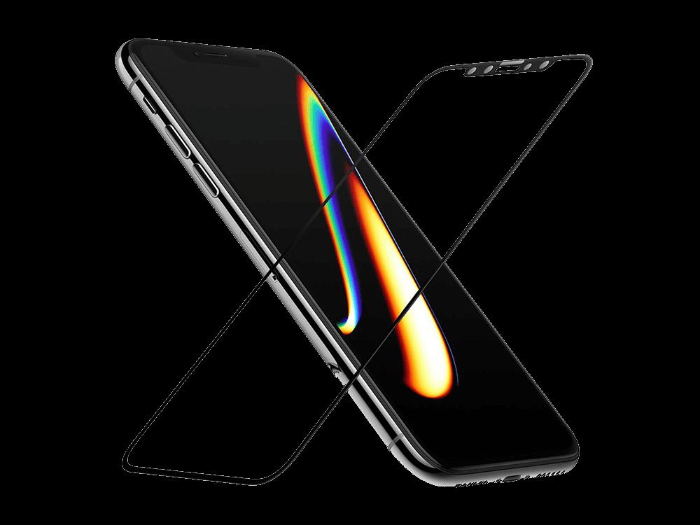 Buff iPhone 11 Pro/X/XS 5D Cam Ekran Koruyucu