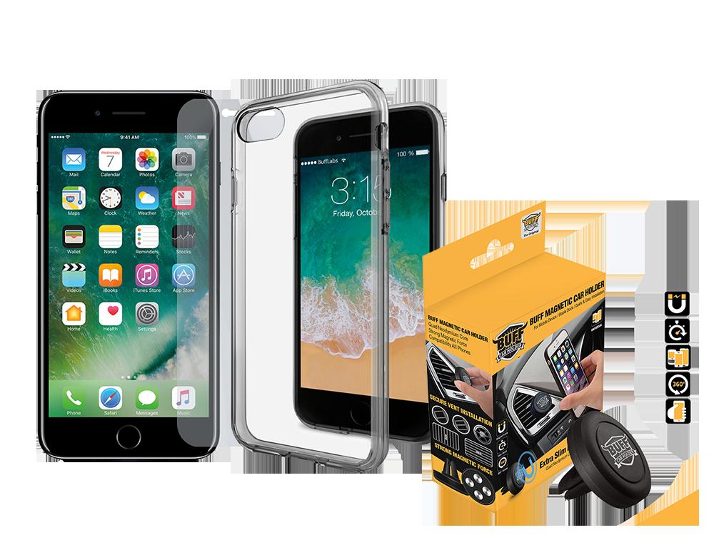 Buff iPhone 7/8 Air Hybrid 3lü Set 2