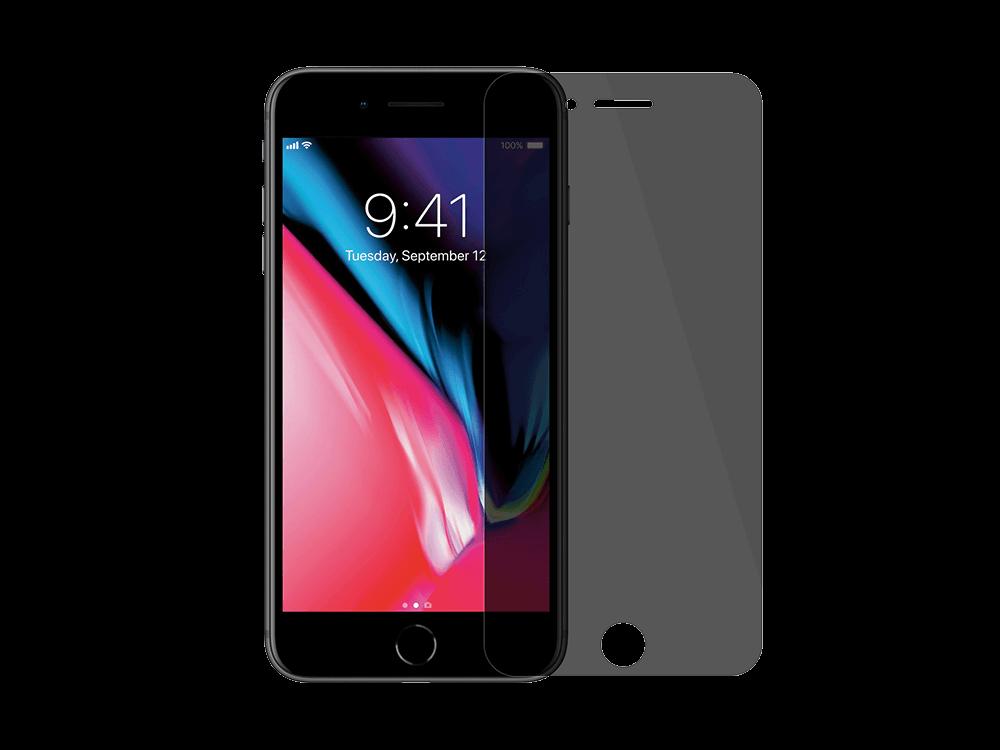 Buff iPhone 8 Plus/7 Plus Karartmalı Ekran Koruyucu