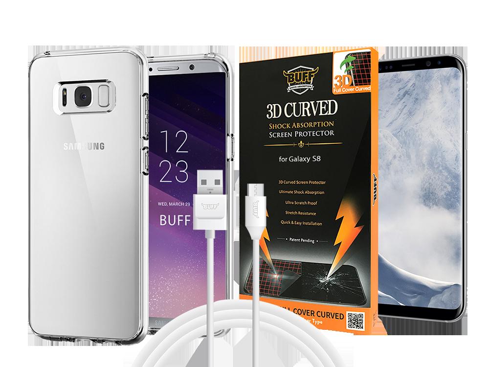 Buff Samsung Galaxy S8 Air Hybrid 3lü Set 1
