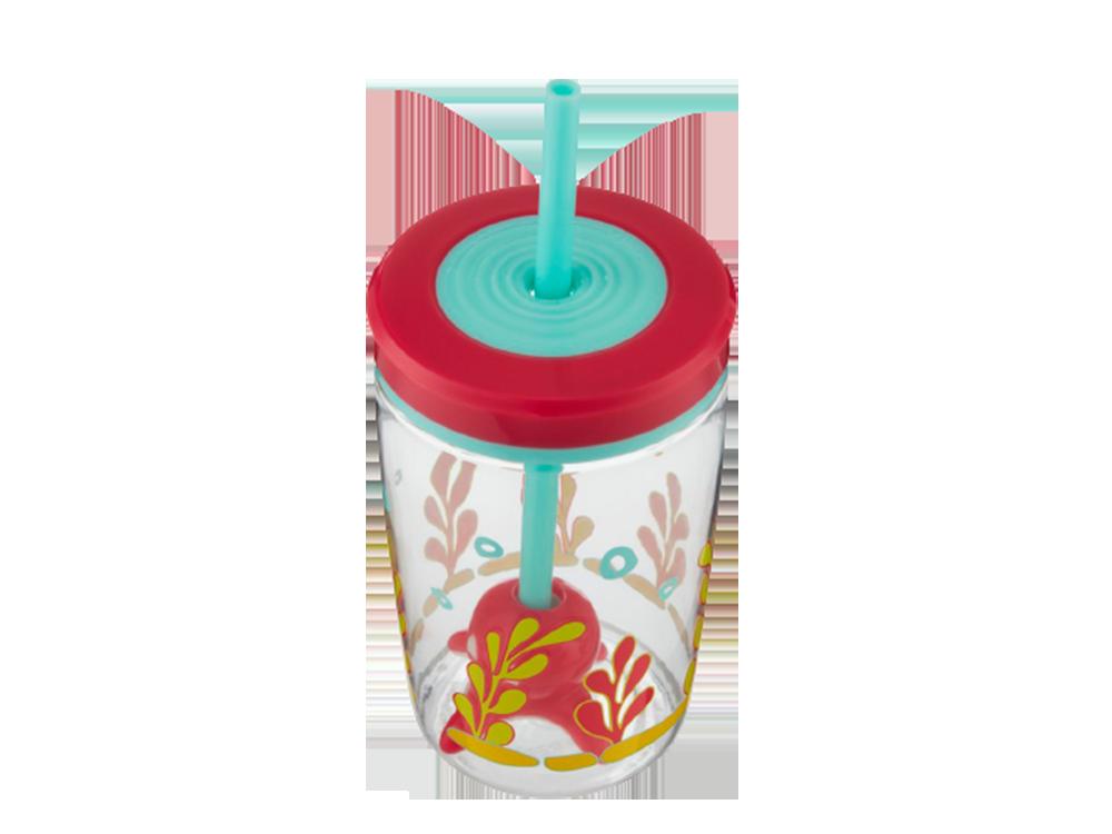 Contigo Floating Straw Squid Su Bardağı 0.42 L