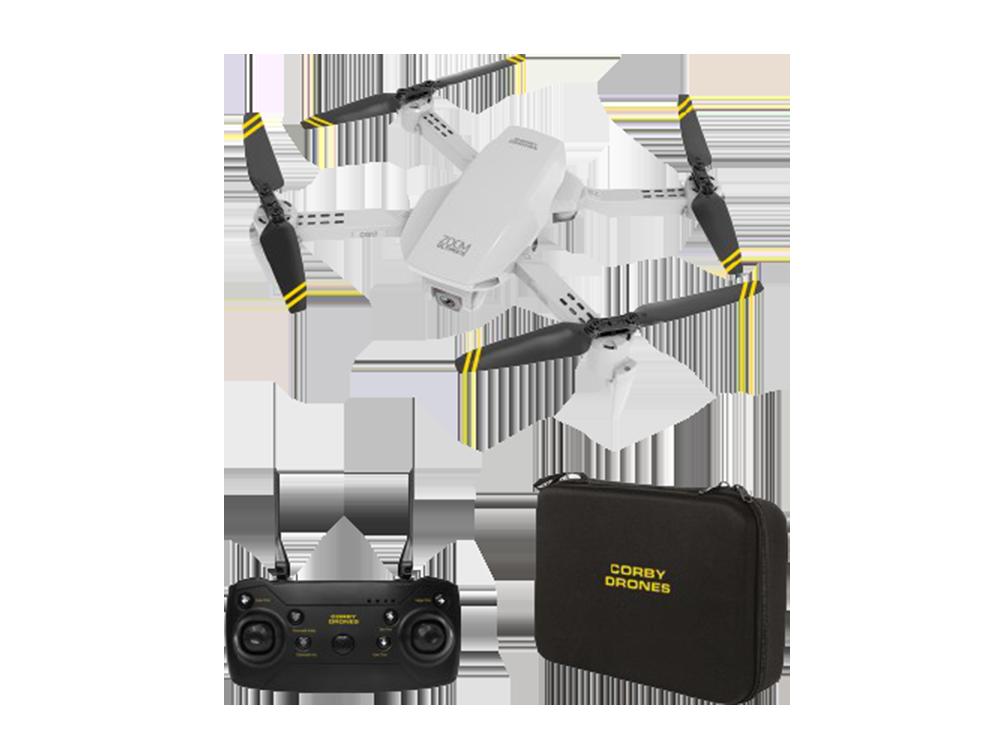 Corby CX017 Wi-Fi Çift Kameralı Katlanabilir 1080P Drone