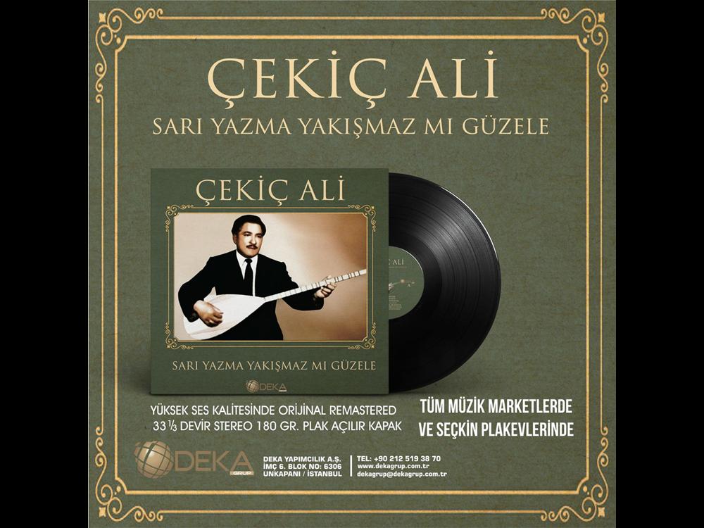 Çekiç Ali Sarı Yazma Yakışmazmı Güzele Plak