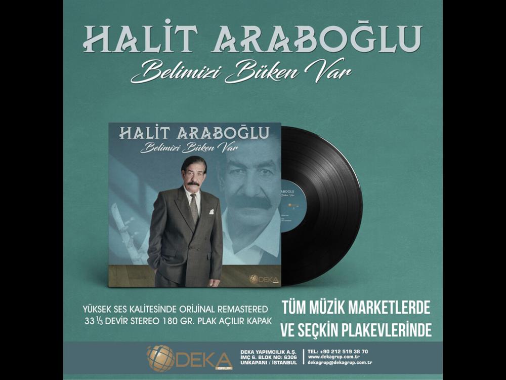 Halit Arapoğlu Belimizi Büken Var Plak