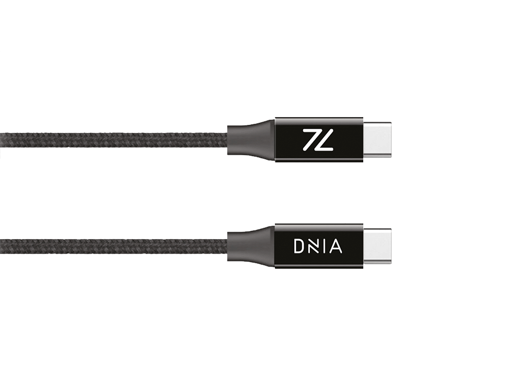 Dnia Storm PD Type-C to Type-C Şarj ve Data Kablosu