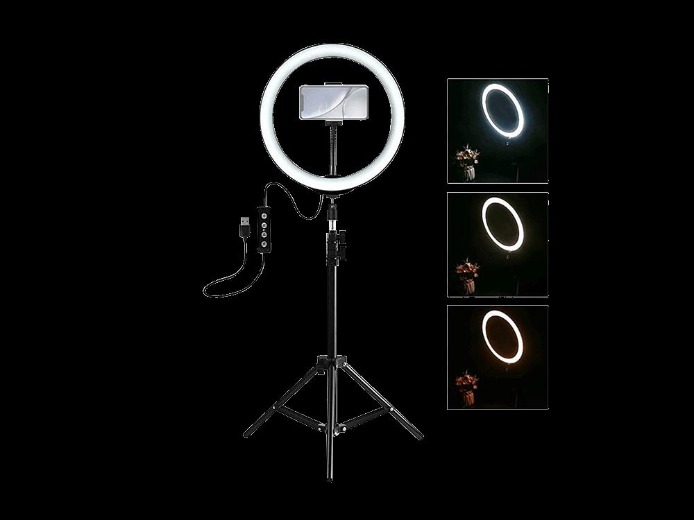 E2M 10 inç Ring Light LED Youtuber Çekim Işığı