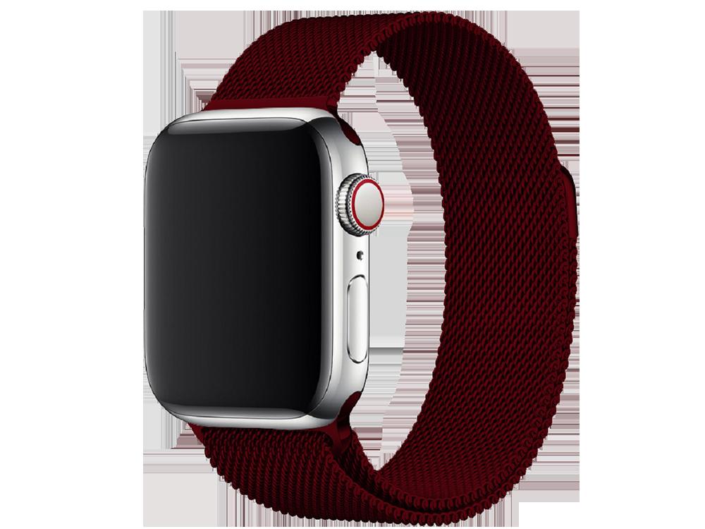 E2M Apple Watch 38-40 mm KRD-01 Metal Hasır Kordon-2