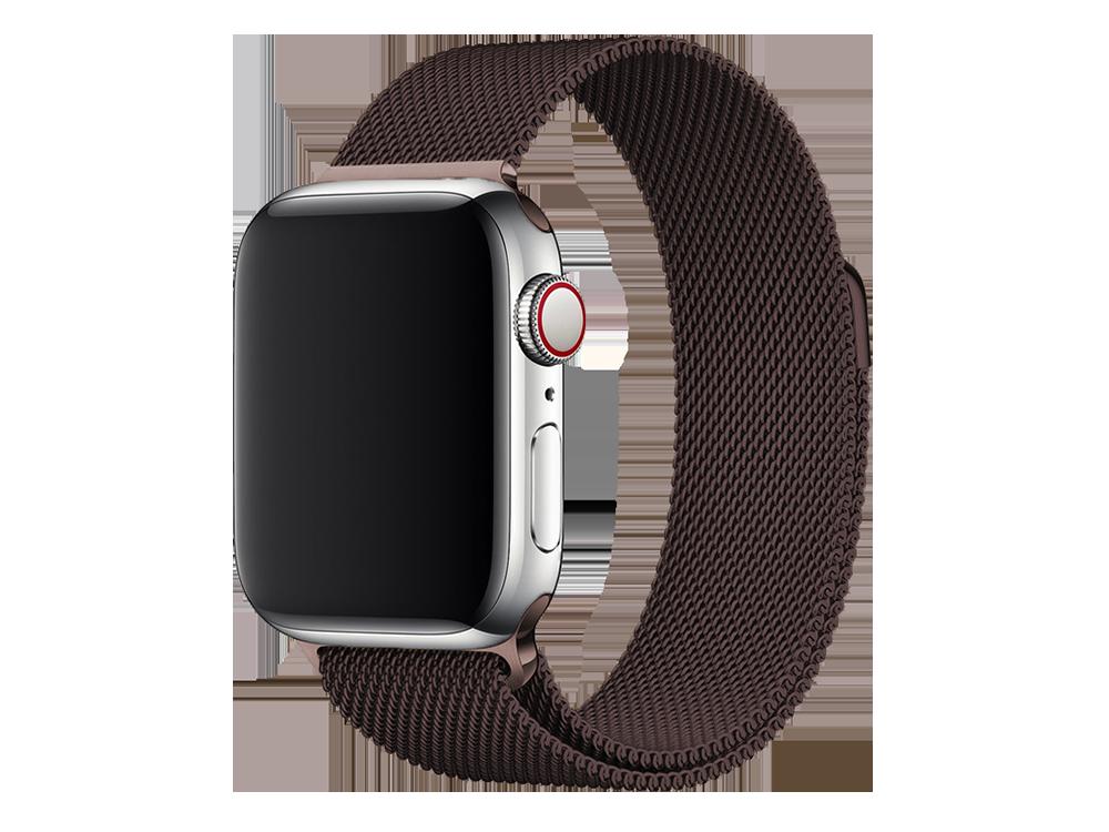 E2M Apple Watch 42-44 mm KRD-01 Metal Hasır Kordon-2