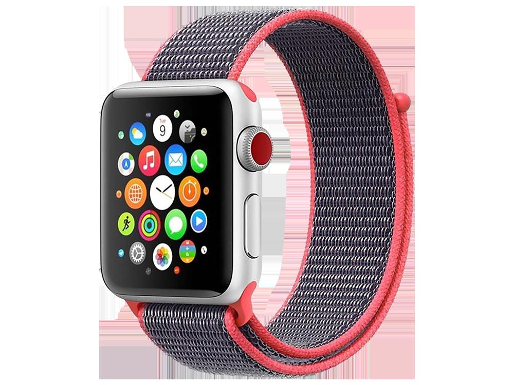 E2M Apple Watch 42-44 mm KRD-03 Hasır Kordon-5
