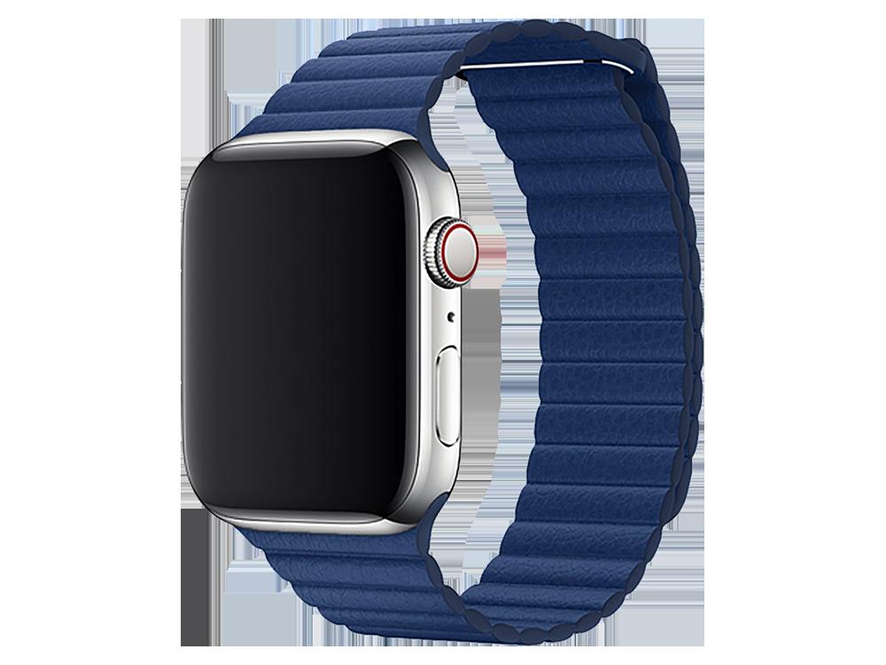 E2M Apple Watch 42-44 mm KRD-06 Deri̇ Bükme Kordon-2