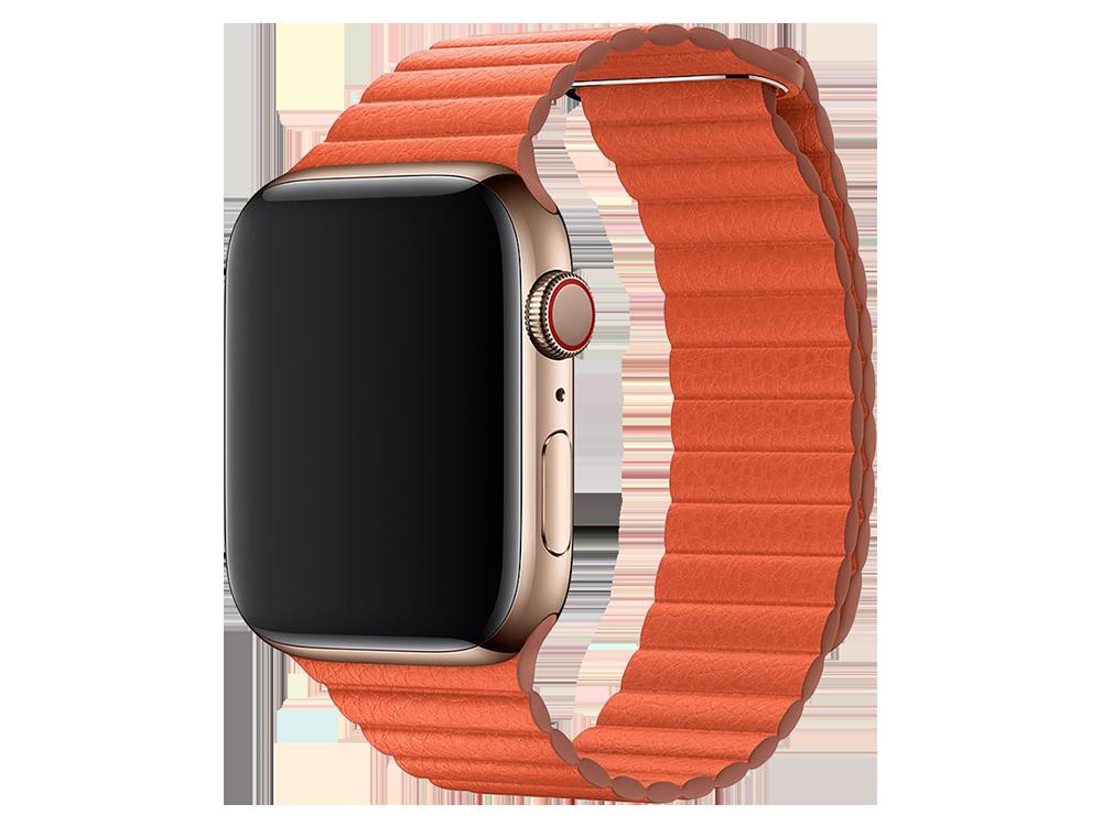 E2M Apple Watch 38-40 mm KRD-06 Deri̇ Bükme Kordon - 2